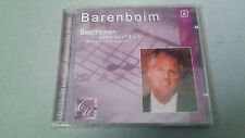 "BARENBOIM ""BEETHOVEN SINFONIAS 4 Y 5"" CD 8 TRACKS PRECINTADO"