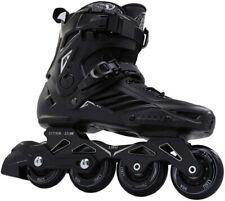 LIKU Black Professional Inline Skates Unisex SIZE M 10.5/W 11.5 EUR 45