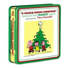 """""""A CHARLIE BROWN CHRISTMAS"""" 40th Anniversary Collector's Edition - 3 CDs & Tin"""