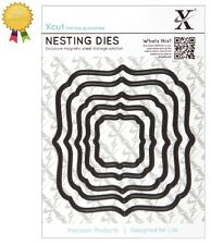 Xcut Metal Nesting Dies *SQUARE PARENTHESIS* 5 Piece - by DoCrafts Die Cutting