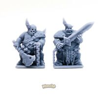 Rotten Champion, Lord - Heroquest D&D Warhammer Gloomhaven Dungeon - Minis3D
