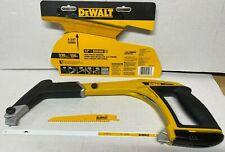 NEW DEWALT DWHT20547L 5-in-1 High Tension Multifunction Hacksaw With 2 Blades
