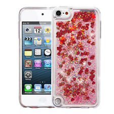 Hearts & Red Quicksand Glitter Cover APPLE iPod touch 5th APPLE iPod t