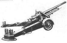 EWM Belgun1 1/76 Diecast WWII Belgian Canon de 120L Cockerill MLE 1931 Gun