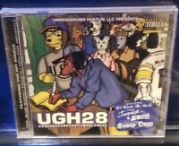 Snoop Dog - UGH 28 Mixtape CD SEALED intrinzik mcnastee undergound horrorcore