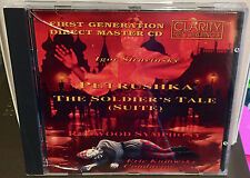 CLARITY CD CCD-1003: Stravinsky - Petrushka, Soldier's Tale - Kujawsky, 1992 OOP