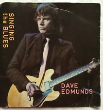 """Dave Edmunds - Singing The Blues - Swansong Records Picture Sleeve 7"""" Single"""