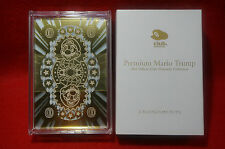CLUB NINTENDO Official 2012 Platinum Mario Trump Playing Cards wii 3ds Limited