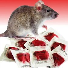 Raticide Rat Poison 10 Professional Grade Packets This Stuff Really Works 100 Gm