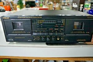 TEAC W520R Dual Cassette Deck, Dual Auto Reverse, Dolby B/C,HX  Tested