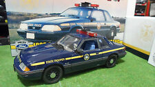 FORD MUSTANG SPECIAL SERVICE 1988 STATE POLICE 1/18 GMP 9066 voiture miniature