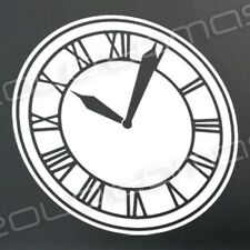 BACK TO THE FUTURE Hill Valley Clock Tower sticker decal DeLorean
