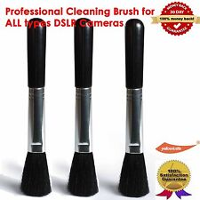 3x Cleaning Lens Brush System,Cleans all Camera Lenses,Telescopes,Binoculars,LCD