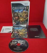 Call of Duty 3 Nintendo Wii VGC