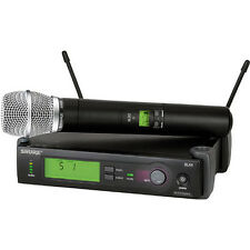 Shure SLX24/SM86-G4 Handheld Wireless Microphone System G4: 470-494 MHz SM86 Mic