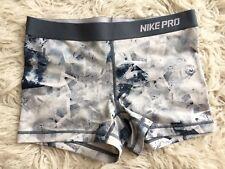 Womens Nike Pro Dri Fit Sports Pattern Gym Bike Shorts Size XL