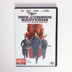 Inglourious Basterds DVD Region 4 AUS Free Postage - War Action