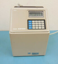 Amano Microder MJR-7000 Digital Computerized Time Card Punch Clock w/ Keys