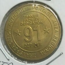 Kent Ohio OH Portage Area Regional Transit Authority Transportation Token
