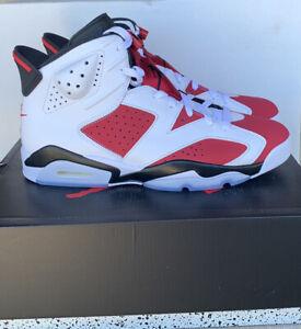 Jordan 6 Retro Carmine 2021 New Size 10.5 CT8529-106