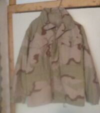 ISRATEX CLASS 4 COLD WEATHER Small XS Short DESERT CAMO MILITARY JACKET/W/Hood
