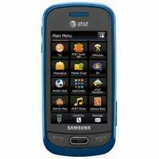 NEAR MINT Samsung Eternity II SGH-A597 - Blue (AT&T)