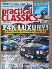 Practical Classics May 2018 Porsche 911 996 Spitfire Saab 99 BMW 750i Bentley