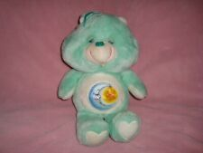 "BEDTIME BEAR Vintage Care Bears Kenner Plush 12"" American Greetings 1983"