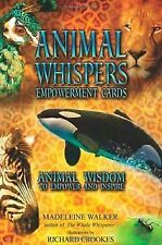 Animal Whispers Empowerment Cards 9781844095957 by Madeleine Walker Misc