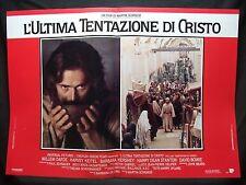 FOTOBUSTA CINEMA - L'ULTIMA TENTAZIONE DI CRISTO - W. DAFOE - 1988 -RELIGIOSO-03