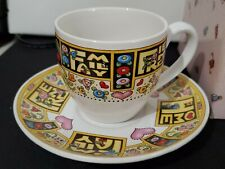 Mary Engelbreit Time for Tea Cup & Saucer Love Friends Family Home New Open Box