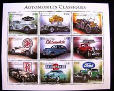 AUTOMOBILES CLASSIQUES SERIES II MNH OG (SEE ITEM DESCRIPTION)