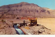 CATERPILLAR DIESEL D318 ENGINE PUMPING WATER FOR IRRIGATION, LAS CRUCES, N.M.