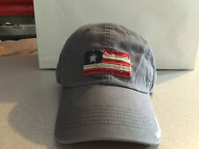"Life Is Good Cap Hat US Flag Patch Boy Size Grey ""Buy 4 Get 1 Free"""