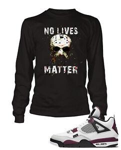 No Lives Matter Horror Graphic Tee Shirt Sneaker T Shirt Hip Hop Street Wear