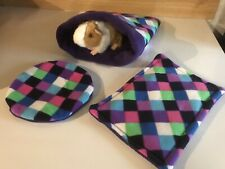 Guinea Pig Heat Pad Cover, Knee Pad, Snuggle Pouch Set