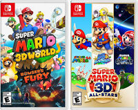 Super Mario 3D World + Bowsers Fury and Super Mario 3D All Stars Nintendo Switch