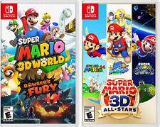 Super Mario 3D World + Bowsers furia y Super Mario 3D All Stars Nintendo Switch