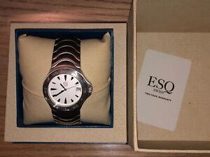 Esq Swiss Mens Watch E5087 Stainless