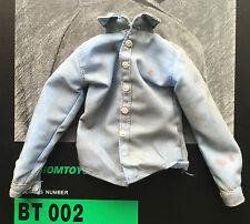 Bomtoys científico Zombie BT002 Luz Azul Camisa Holgada escala 1/6th