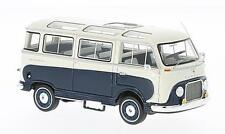 Ford Taunus Transit Panoramabus 1953 Dark Blue / White 1:43 Model