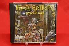 IRON MAIDEN Somewhere In Time (CD, 1995 Castle Records) CASTLE 108-2 Limited 2CD