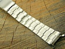 Vintage Seiko NOS Unused Deployment Clasp Watch Band 19mm Stainless Steel Mens