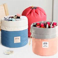 Sacchetto borsa organizer cosmetici tasche oggetti make up trucco viaggio donna