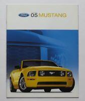 2005 Ford Mustang Brochure GT V6 V8