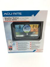 AcuRite Weather Station With Colour Display - Indoor + Outdoor Weather Info
