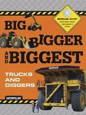 Big Bigger Biggest Trucks and Diggers - With DVD (Caterpillar), Chronicle Books,