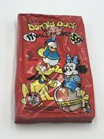 17 Vintage Donald Duck & His Pals Valentines Box NIP New NOS Mouseketeer Member