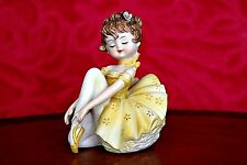Antique German 'Foreign' Porcelain Ballerina Figurine