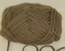 100g Fallow Deer Brown 100% Pure Merino knitting Wool Chunky great for Felting